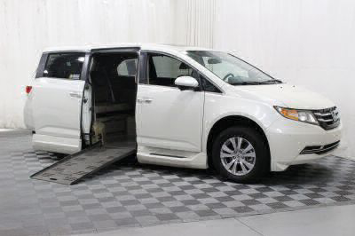 Used Wheelchair Van for Sale - 2016 Honda Odyssey EX-L Wheelchair Accessible Van VIN: 5FNRL5H64GB120402
