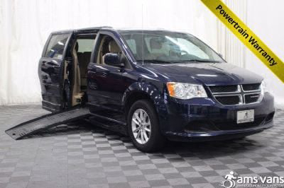 Handicap Van for Sale - 2014 Dodge Grand Caravan SXT Wheelchair Accessible Van VIN: 2C4RDGCG4ER423366