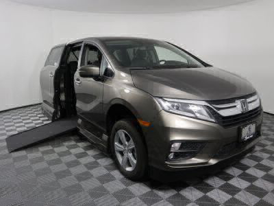 Used Wheelchair Van for Sale - 2019 Honda Odyssey EX-L Wheelchair Accessible Van VIN: 5FNRL6H7XKB017850
