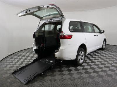 Commercial Wheelchair Vans for Sale - 2017 Toyota Sienna L ADA Compliant Vehicle VIN: 5TDZZ3DC6HS773454