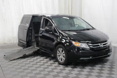 Handicap Van for Sale - 2016 Honda Odyssey EX-L Wheelchair Accessible Van VIN: 5FNRL5H68GB075691