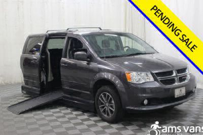 Handicap Van for Sale - 2017 Dodge Grand Caravan SXT Wheelchair Accessible Van VIN: 2C4RDGCG9HR689969