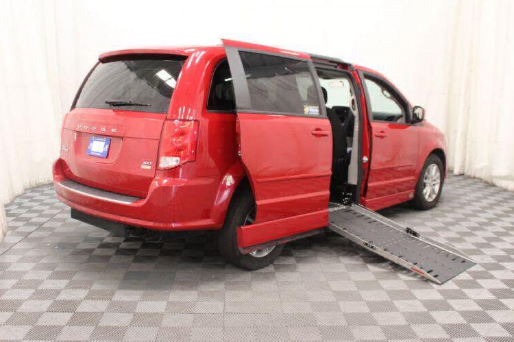 2016 Dodge Grand Caravan SXT Wheelchair Van For Sale #3