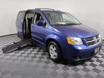 Used Wheelchair Van for Sale - 2010 Dodge Grand Caravan SXT Wheelchair Accessible Van VIN: 2D4RN5D12AR256496