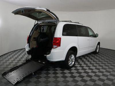 Commercial Wheelchair Vans for Sale - 2016 Dodge Grand Caravan SXT ADA Compliant Vehicle VIN: 2C4RDGCG1GR274000