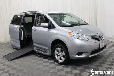 Commercial Wheelchair Vans for Sale - 2015 Toyota Sienna LE ADA Compliant Vehicle VIN: 5TDKK3DC9FS610977