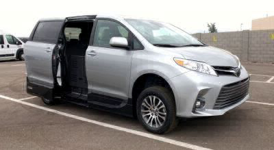 New Wheelchair Van for Sale - 2020 Toyota Sienna XLE Wheelchair Accessible Van VIN: 5TDYZ3DC1LS031046