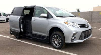 New Wheelchair Van for Sale - 2020 Toyota Sienna XLE Wheelchair Accessible Van VIN: 5TDYZ3DC1LS031046