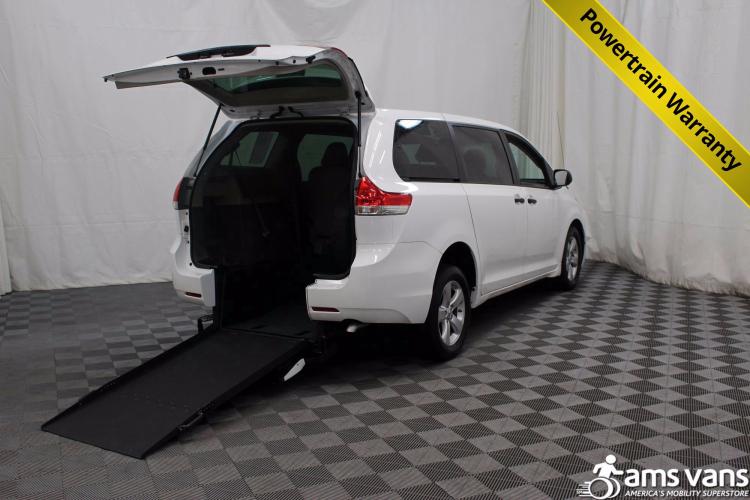 2013 Toyota Sienna L Wheelchair Van For Sale #1