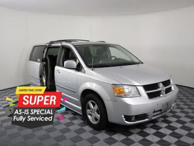 Used Wheelchair Van for Sale - 2010 Dodge Grand Caravan SXT Wheelchair Accessible Van VIN: 2D4RN5D18AR129560