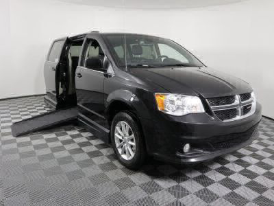 New Wheelchair Van for Sale - 2019 Dodge Grand Caravan SXT Wheelchair Accessible Van VIN: 2C4RDGCGXKR608064