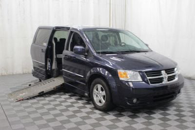 Used Wheelchair Van for Sale - 2008 Dodge Grand Caravan SXT Wheelchair Accessible Van VIN: 1D8HN54P48B161090