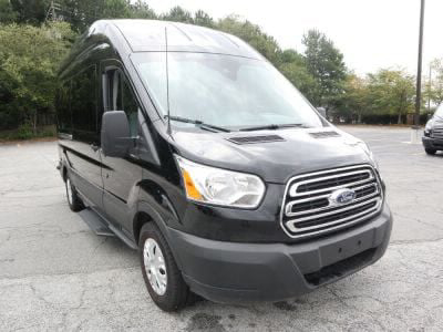 New Wheelchair Van for Sale - 2019 Ford Transit Passenger High Roof 350 XLT - 15 Wheelchair Accessible Van VIN: 1FBAX2XM2KKB06451