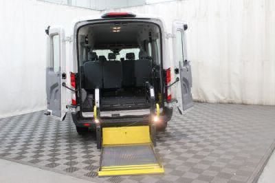 Commercial Wheelchair Vans for Sale - 2018 Ford Transit Passenger 350 XLT ADA Compliant Vehicle VIN: 1FBAX2CM0JKA85877