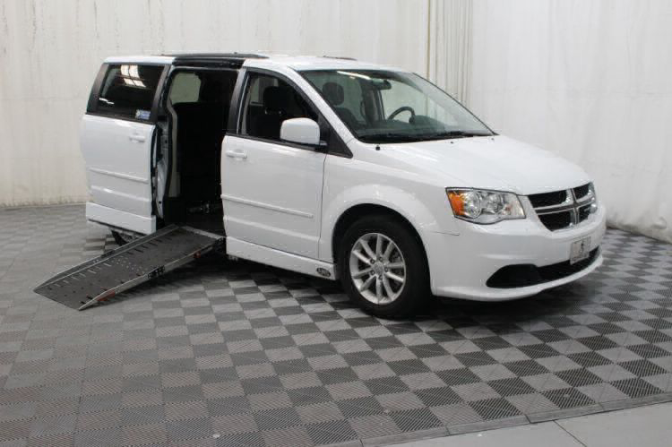 2015 Dodge Grand Caravan SXT Wheelchair Van For Sale #1