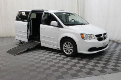 Handicap Van for Sale - 2015 Dodge Grand Caravan SXT Wheelchair Accessible Van VIN: 2C4RDGCG5FR586111