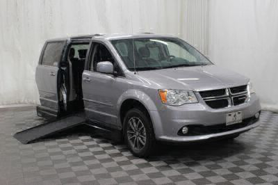 Handicap Van for Sale - 2017 Dodge Grand Caravan SXT Wheelchair Accessible Van VIN: 2C4RDGCG0HR858020