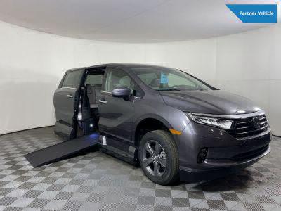 New Wheelchair Van for Sale - 2022 Honda Odyssey EX Wheelchair Accessible Van VIN: 5FNRL6H57NB011278