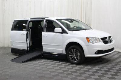 Handicap Van for Sale - 2017 Dodge Grand Caravan SXT Wheelchair Accessible Van VIN: 2C4RDGCGXHR589749