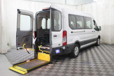 Commercial Wheelchair Vans for Sale - 2018 Ford Transit Passenger 350 XLT ADA Compliant Vehicle VIN: 1FBAX2CM9JKA85876