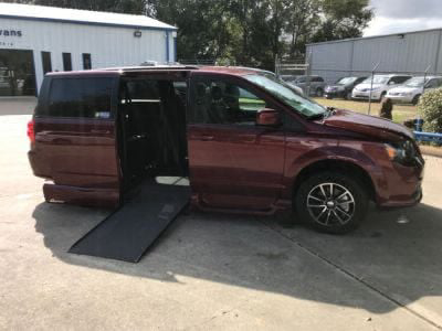 Handicap Van for Sale - 2019 Dodge Grand Caravan GT Wheelchair Accessible Van VIN: 2C4RDGEG9KR519230