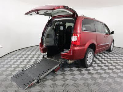 Commercial Wheelchair Vans for Sale - 2016 Chrysler Town & Country Touring ADA Compliant Vehicle VIN: 2C4RC1BG7GR158060