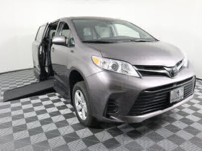 New Wheelchair Van for Sale - 2019 Toyota Sienna LE Standard Wheelchair Accessible Van VIN: 5TDKZ3DC4KS004587