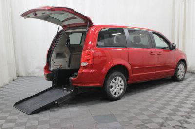 Used Wheelchair Van for Sale - 2016 Dodge Grand Caravan SE Wheelchair Accessible Van VIN: 2C4RDGBG6GR182799