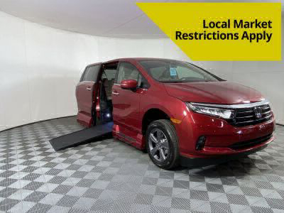 New Wheelchair Van for Sale - 2022 Honda Odyssey EX Wheelchair Accessible Van VIN: 5FNRL6H54NB003560