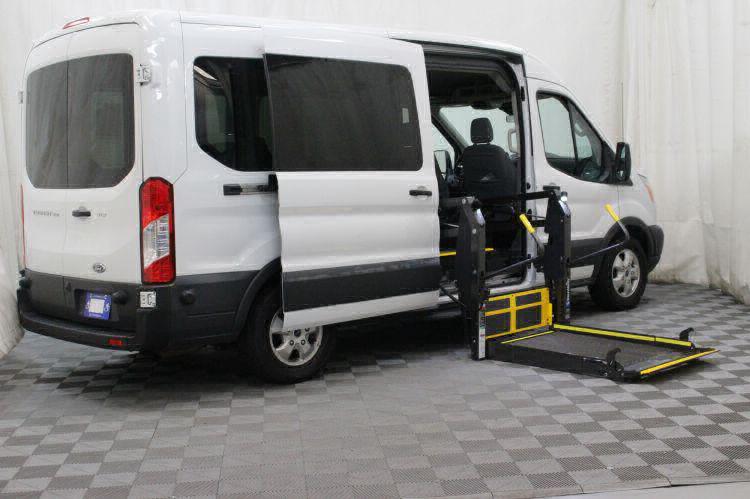 2017 Ford Transit Passenger 350 XLT 15 Wheelchair Van For Sale #2