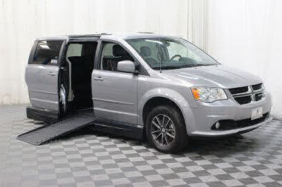 Handicap Van for Sale - 2017 Dodge Grand Caravan SXT Wheelchair Accessible Van VIN: 2C4RDGCGXHR766171