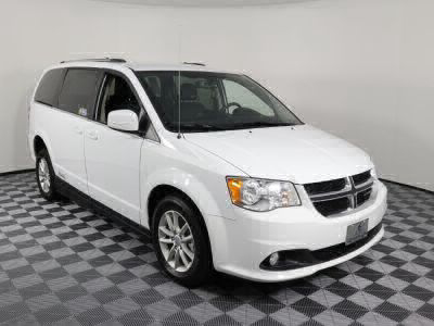 Handicap Van for Sale - 2018 Dodge Grand Caravan SXT Wheelchair Accessible Van VIN: 2C4RDGCG6JR179357