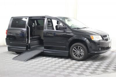 Handicap Van for Sale - 2017 Dodge Grand Caravan SXT Wheelchair Accessible Van VIN: 2C4RDGCG7HR581088
