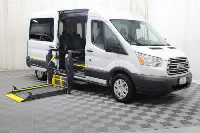 Commercial Wheelchair Vans for Sale - 2017 Ford Transit Passenger 350 XLT 15 ADA Compliant Vehicle VIN: 1FBAX2CM2HKA66290