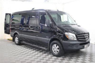 Commercial Wheelchair Vans for Sale - 2016 Mercedes-Benz Sprinter Passenger 2500 ADA Compliant Vehicle VIN: WDZPE7CD5GP195540