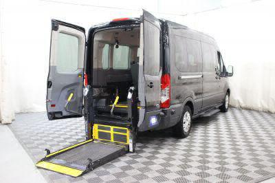 Commercial Wheelchair Vans for Sale - 2018 Ford Transit Passenger 350 XLT ADA Compliant Vehicle VIN: 1FBAX2CM5JKA43169