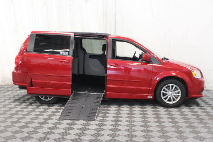 2016 Dodge Grand Caravan SXT Wheelchair Van For Sale #2