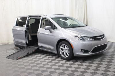 Handicap Van for Sale - 2017 Chrysler Pacifica Touring-L Plus Wheelchair Accessible Van VIN: 2C4RC1EG4HR756815