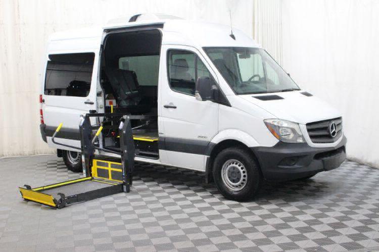 2016 Mercedes-Benz Sprinter 2500 144 WB Wheelchair Van For Sale #4