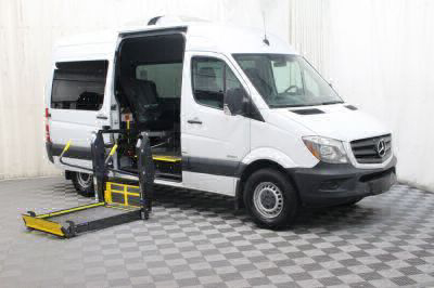2016 Mercedes-Benz Sprinter Wheelchair Van For Sale -- Thumb #4