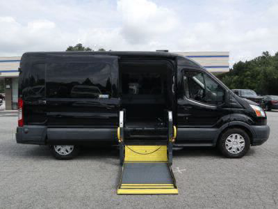 Commercial Wheelchair Vans for Sale - 2016 Ford Transit Passenger 350 XLT ADA Compliant Vehicle VIN: 1FBAX2CM6GKA25997