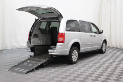 Commercial Wheelchair Vans for Sale - 2008 Chrysler Town & Country LX ADA Compliant Vehicle VIN: 2A8HR44H18R726945
