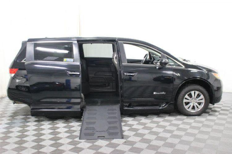 2014 Honda Odyssey EX-L Wheelchair Van For Sale #2