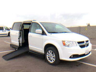 Handicap Van for Sale - 2018 Dodge Grand Caravan SXT Wheelchair Accessible Van VIN: 2C4RDGCG1JR238699