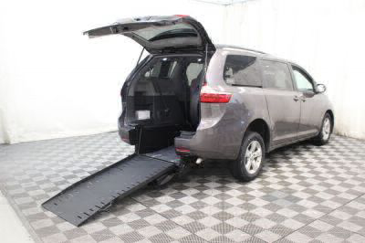 Commercial Wheelchair Vans for Sale - 2015 Toyota Sienna LE ADA Compliant Vehicle VIN: 5TDKK3DC2FS541601