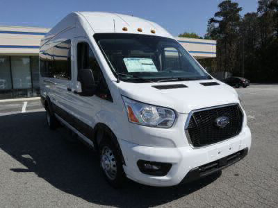 Commercial Wheelchair Vans for Sale - 2021 Ford Transit Passenger High Roof 350 HD XLT - 15 ADA Compliant Vehicle VIN: 1FBVU4XG5MKA04659