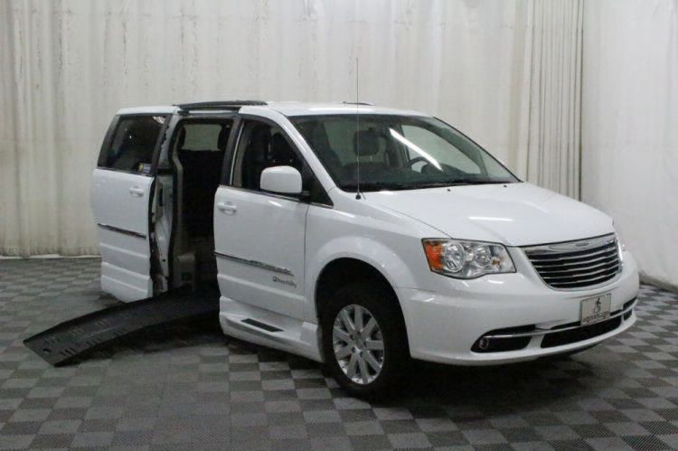 2014 Chrysler Town and Country Touring Wheelchair Van For Sale #1