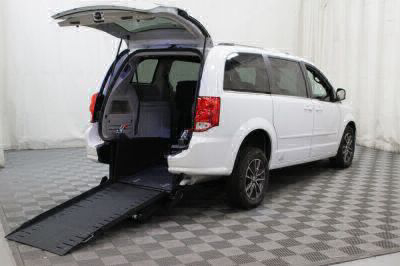 Commercial Wheelchair Vans for Sale - 2017 Dodge Grand Caravan SXT ADA Compliant Vehicle VIN: 2C4RDGCG4HR813906