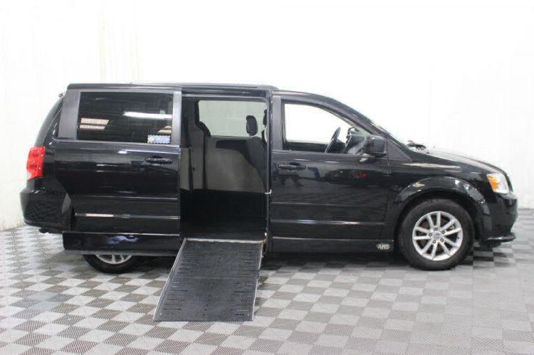 2015 Dodge Grand Caravan SXT Wheelchair Van For Sale #2