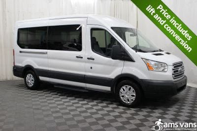 Commercial Wheelchair Vans for Sale - 2015 Ford Transit Wagon 350 XLT 12 ADA Compliant Vehicle VIN: 1FBZX2CM0FKA99756